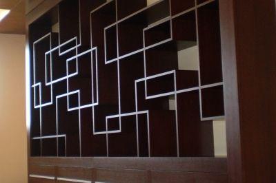 Egyedi tervezésű beépített szekrény
