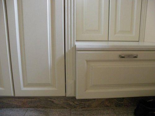 Beépített szekrények, gardróbok anyagai